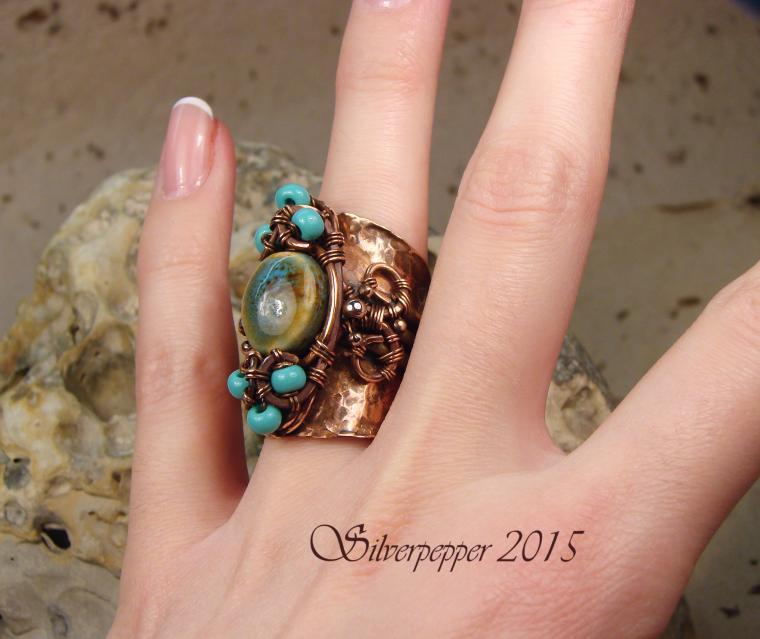 кольцо, медь