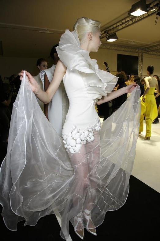 Stephane Rolland Haute Couture весна-лето 2014, фото № 52