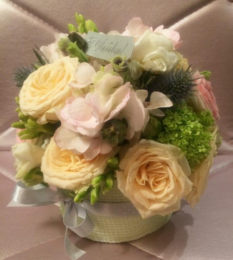 мастер класс москва, флористическая композиция, букет цветов