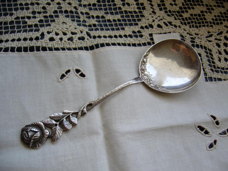 купить серебряную ложку