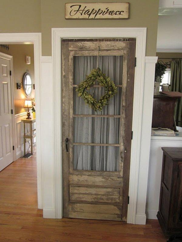 как выкидывать как сделать старые двери красивыми фото талант красоту