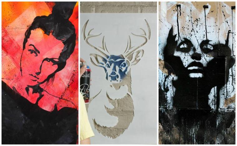 трафарет, мастер-класс по трафарету, уличное искусство, графика, рисование, мастер-класс, мастер-класс в москве, обучение в москве, студия, арт-студия, арт-студия в москве, студия в москве, граффити