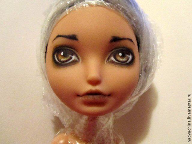 перерисовка лица куклы, фото № 13