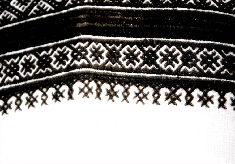 машинная вышивка, белгородская область, русский костюм