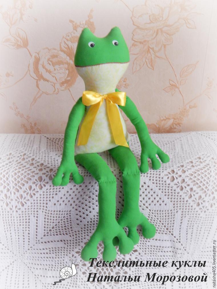 Шьем забавную лягушку, фото № 10