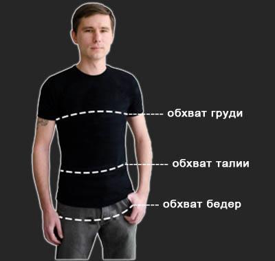 мужские размеры, мерки для мужчин