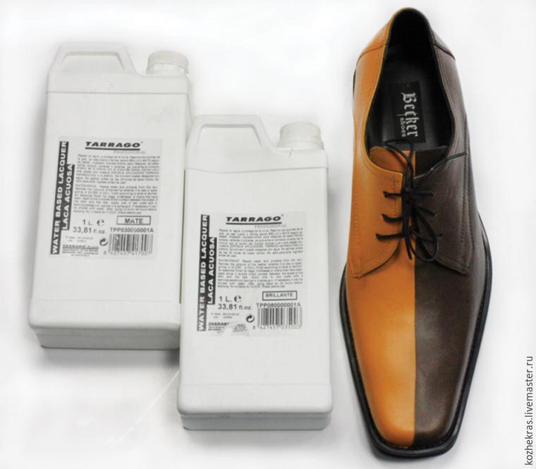 Преображаем туфли с помощью акриловых красителей, фото № 6