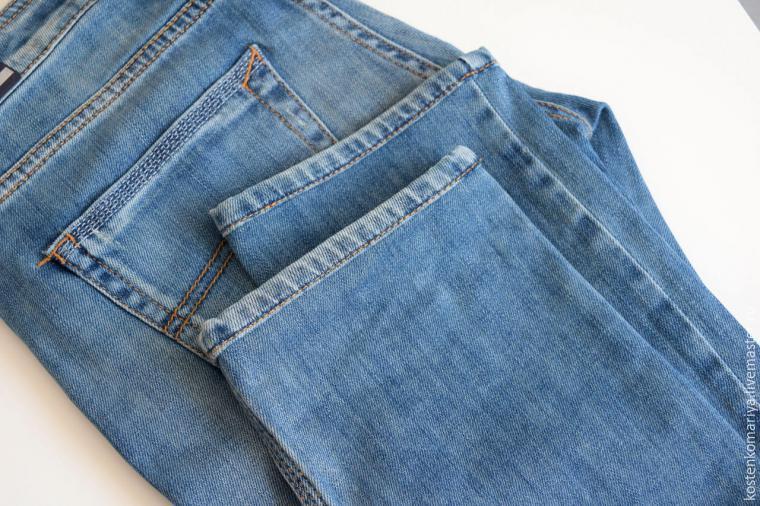 Как в домашних условиях уменьшить джинсы на
