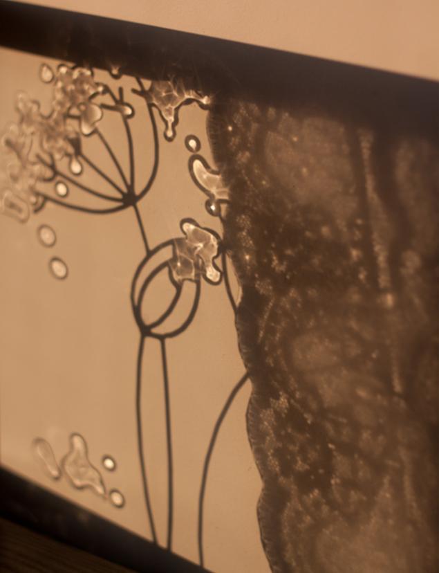 картина на стекле, картина в подарок, витраж, витражная роспись, подарок, интерьерная композиция