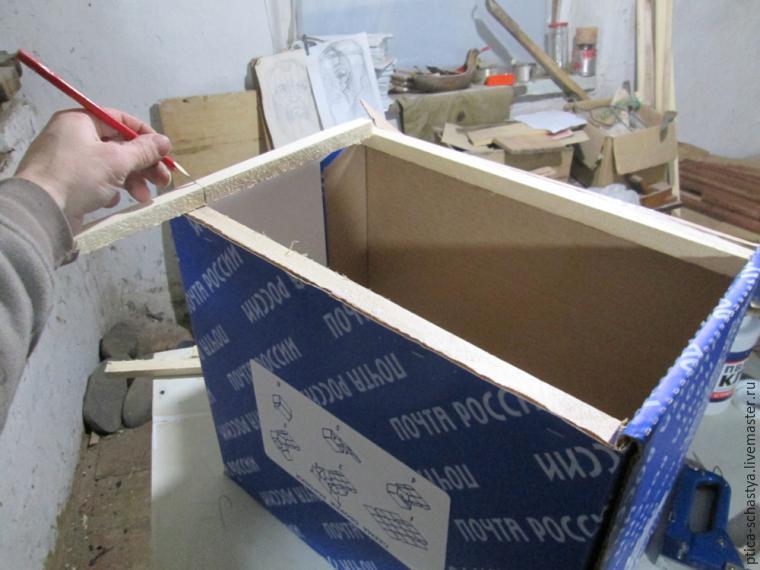 как укрепить коробку