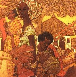 батик, история искусства