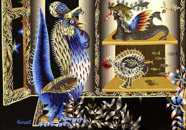 Тканый настенный ковёр шпалера в современных интерпретациях, фото № 4