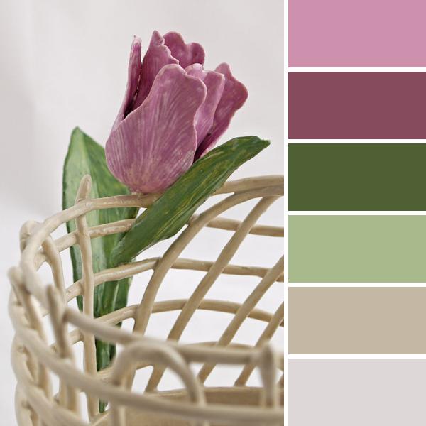 2015的春天15种自然和谐的颜色搭配唤醒—调色板 - maomao - 我随心动