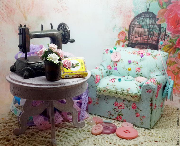 Кукольный диван мастер класс 188