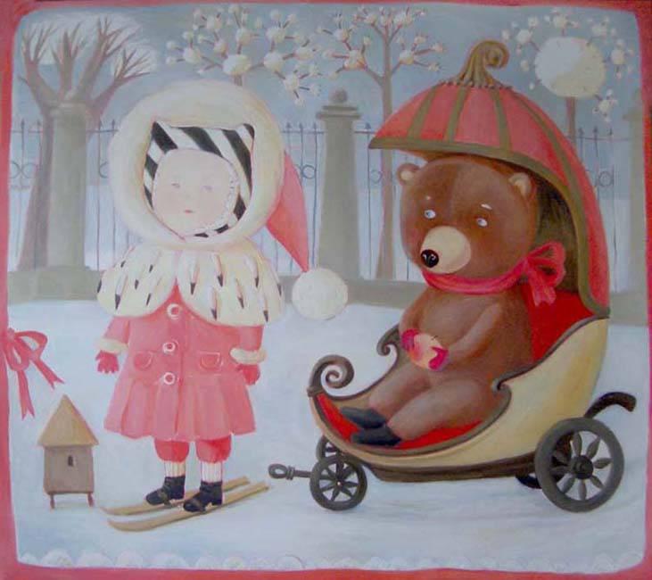 Путешествие в детство с белорусской художницей Анной Королёвой, фото № 13