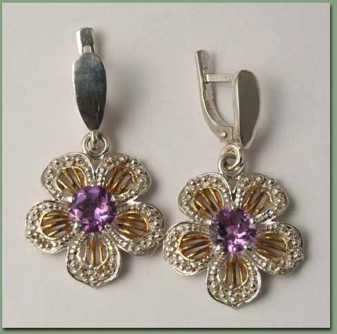 аукцион, кольцо из серебра, серебро, кольцо с аметистом