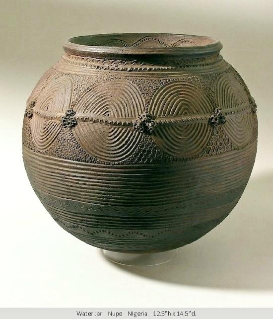 Water jar Nupe Nigeria