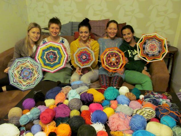 плетение, мандала, оберег, интерьер, подарок, индейцы, ojos de dios