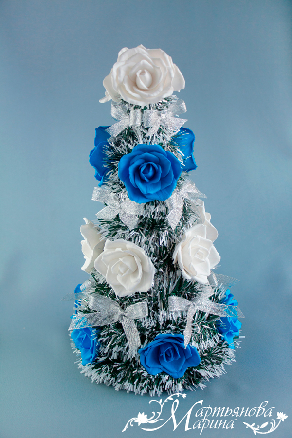 Необычная новогодняя елка, фото № 1