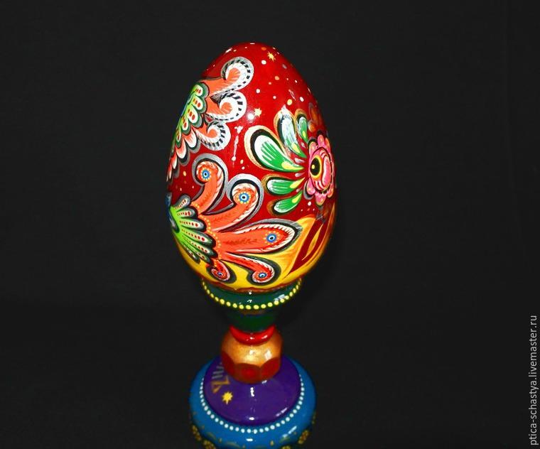 Делаем пасхальное яйцо «Сирин», фото № 24