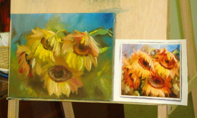 обучение живописи, артзаготовка
