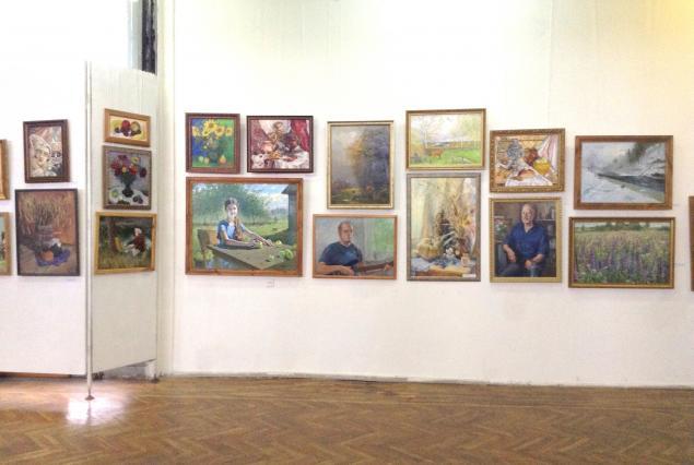 выставка, картины, картина для интерьера, оформление интерьера