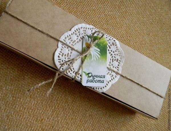 Подарочная упаковка в ЭКО стиле, фото № 9