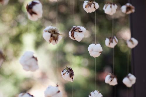 Цветки хлопка своими руками
