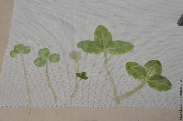 How to Make Plant Prints on Fabric, фото № 9