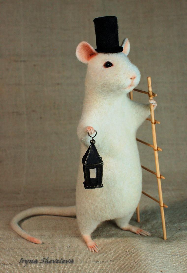 крысы, фонарщик