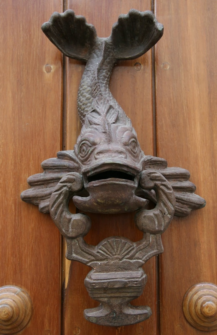 Koi knocker