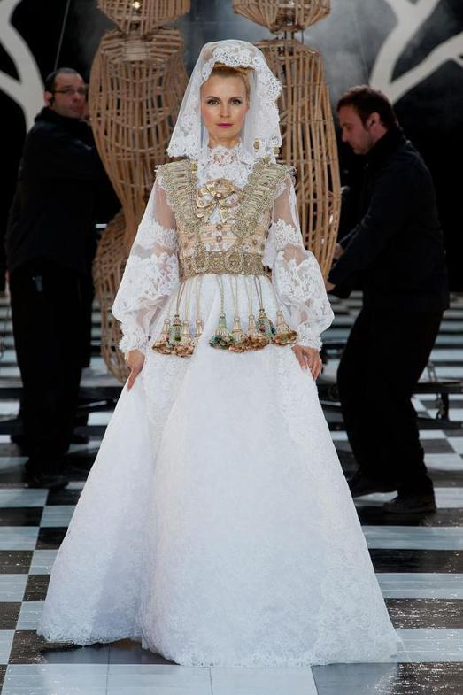 Franck Sorbier Haute Couture весна-лето 2014, фото № 24