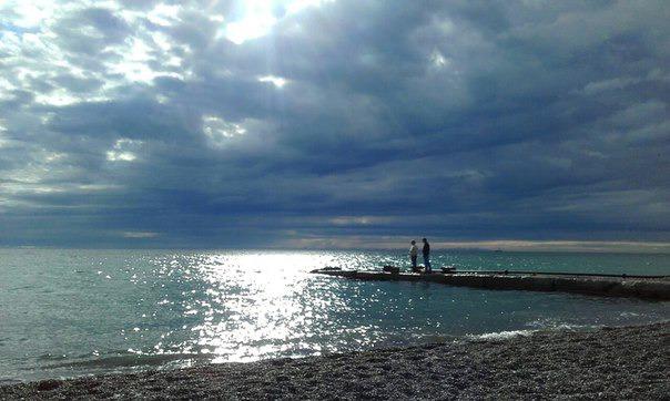 Море в Адлере