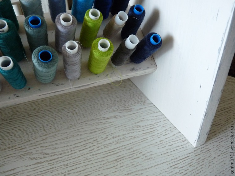 How to Make a Shelf for Spools of Thread, фото № 20
