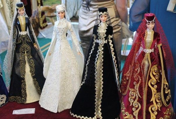 Чеченское национальное платье как сшить