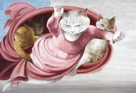 коты в живописи