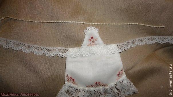 Одежда для кукол .Фартучек., фото № 31
