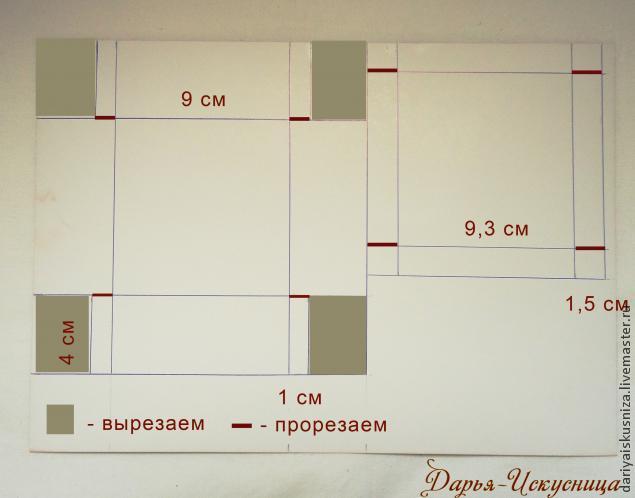 Как сделать коробочку из бумаги с крышкой маленькую