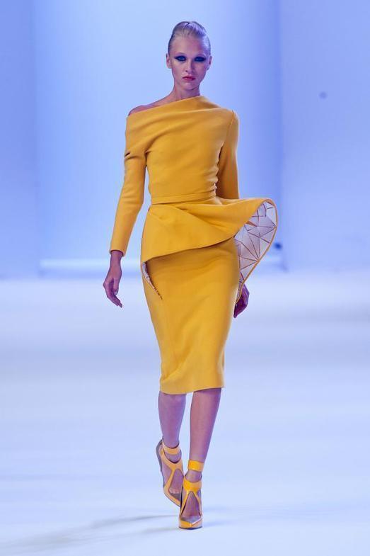 Stephane Rolland Haute Couture весна-лето 2014, фото № 8