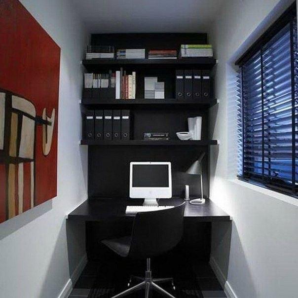 Маленький офис дизайн фото