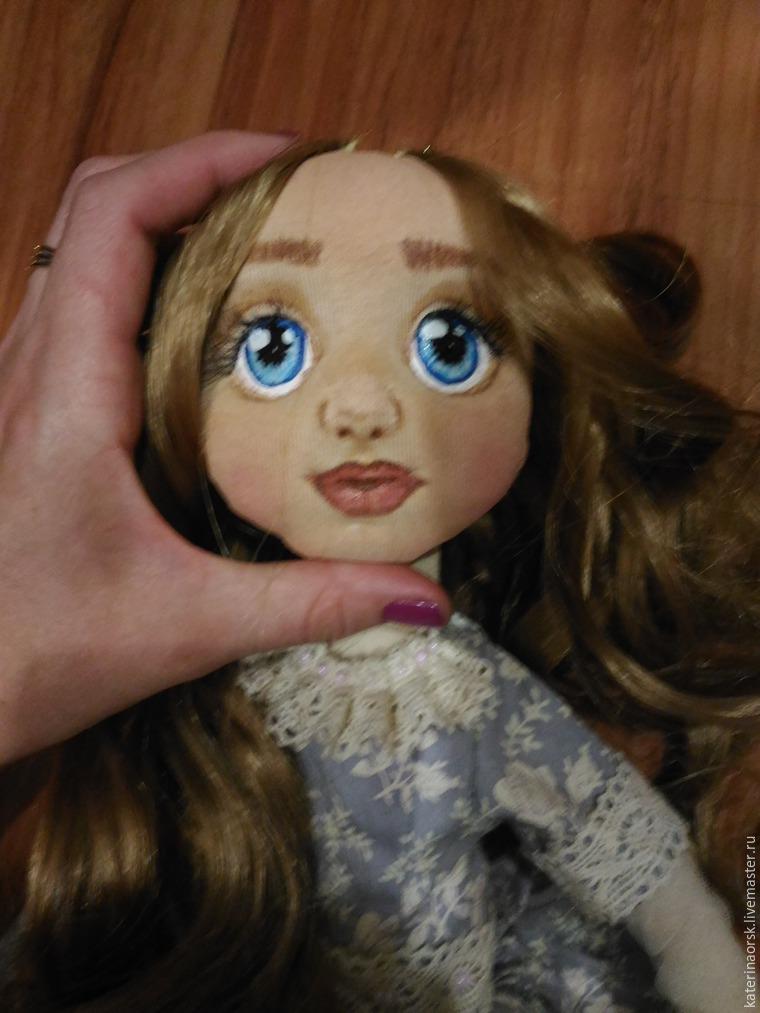 Объемная текстильная кукла мастер класс