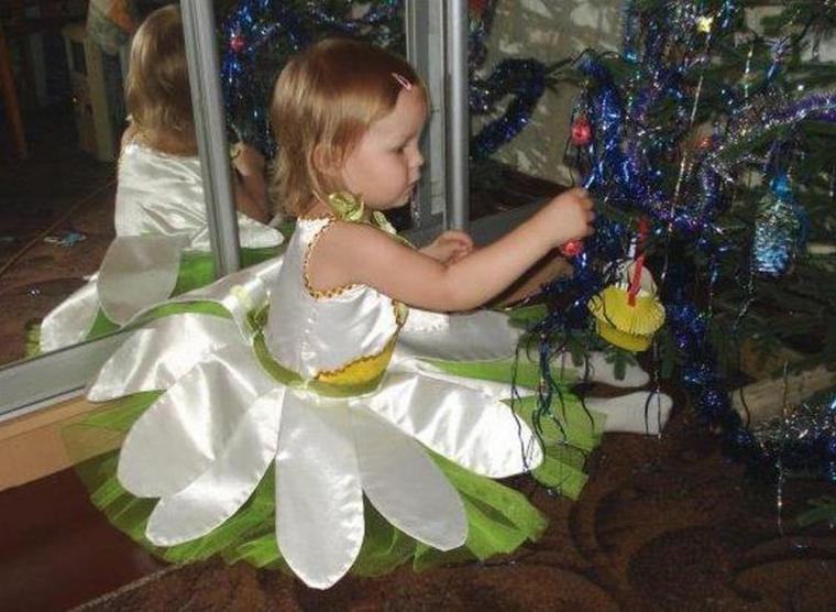 Новогодний костюм ребенку своими руками фото