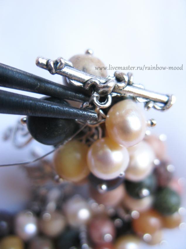 Создаем браслет «Лесной вальс», фото № 13
