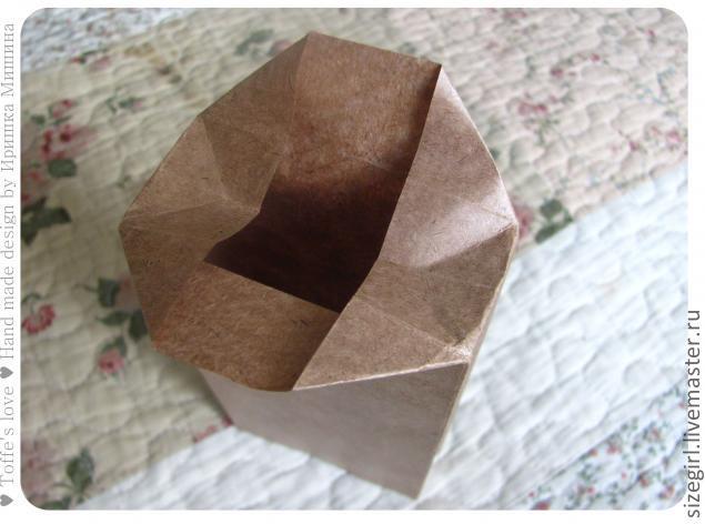 Пакетики из крафт-бумаги своими руками