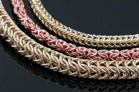 кольчужное плетение, ювелирное искусство