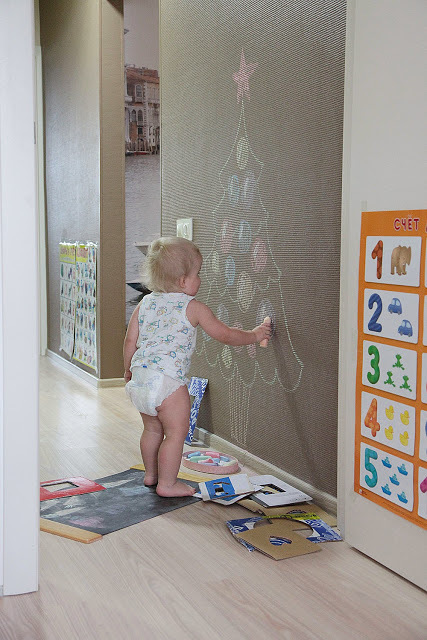 Как рисовать с малышом полутора лет, фото № 3