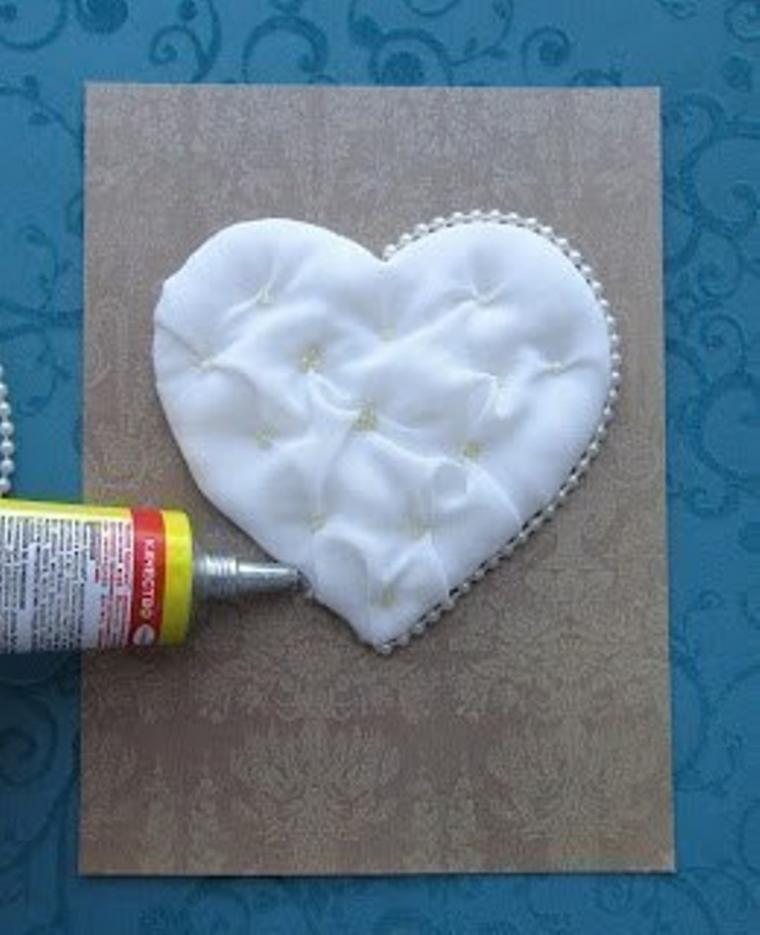 открытка ручной работы, ткани для пэчворка