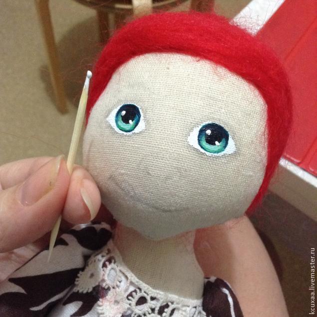 роспись кукол