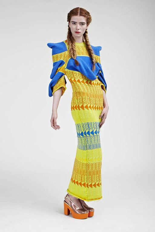 вязаные вещи, креативная одежда