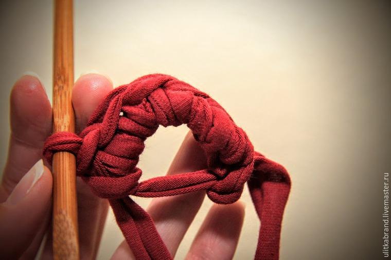 мк вязание корзины